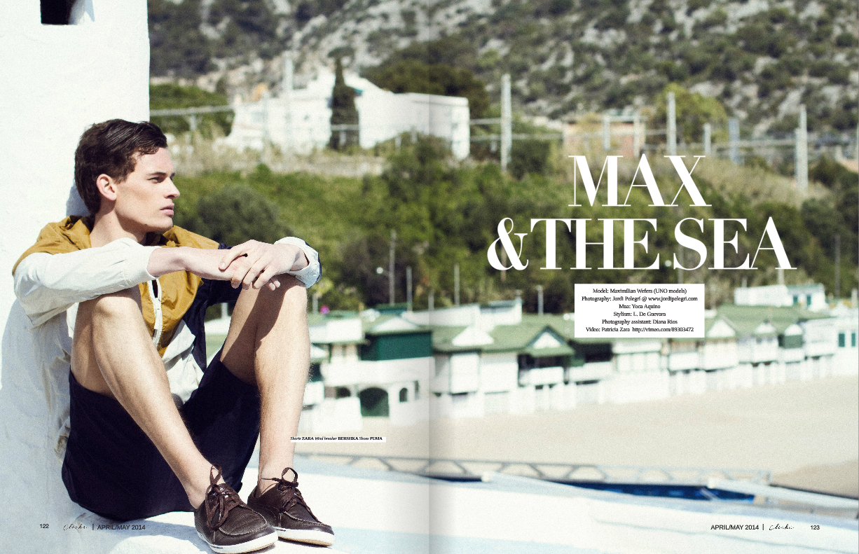 Max & the Sea for Cliché Magazine