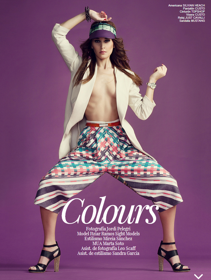 Colours for inCOVER magazine