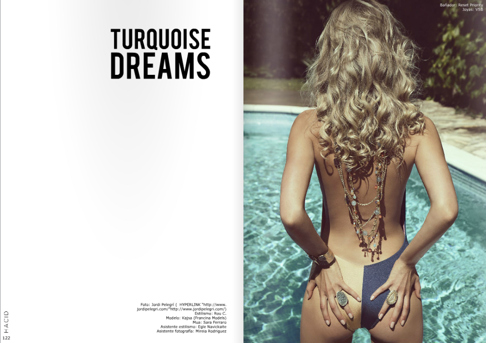 Turquoise Dreams for Hacid mag