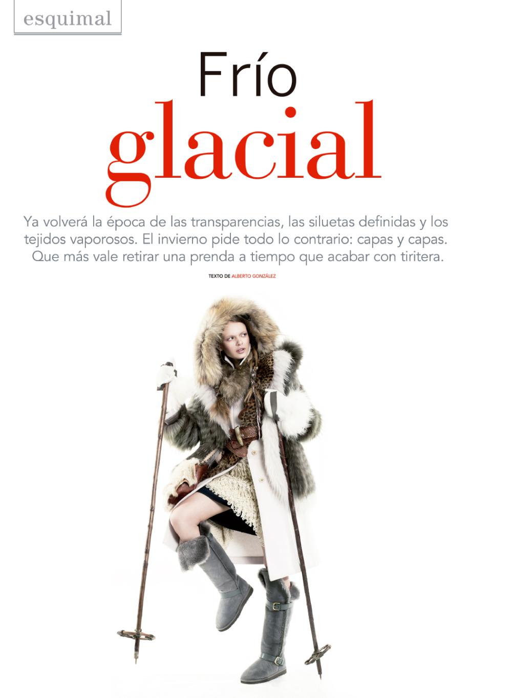 Frío Glacial for El Periódico Exclusive
