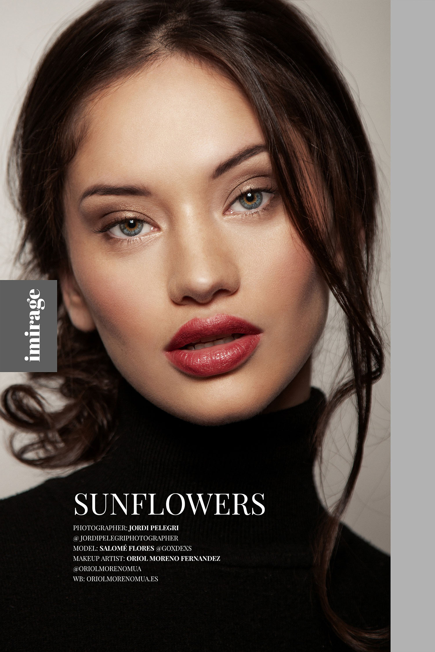 Sunflowers for Imiriage Mag